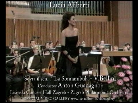"""Lucia Aliberti """"Sovra il sen ..."""" La Sonnambula-V.Bellini,Conductor Anton GuadagnoGuadagno"""