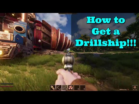 How to Get a Drillship in Volcanoids |
