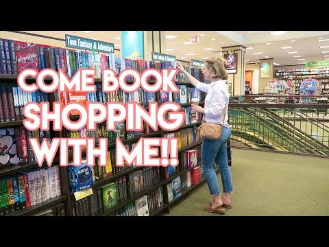 COME BOOK SHOPPING WITH ME + HUGE Haul!