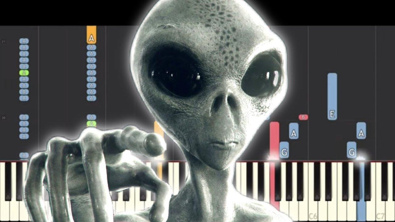 Storm Area 51 Theme - The Illuminati X Files Battle Remix! Piano Cover