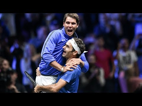 Roger Federer & Rafael Nadal - Pure Friendship - Beautiful & Funny Moments - 2017