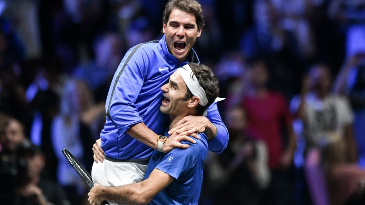 Roger Federer & Rafael Nadal Pure Friendship Beautiful & Funny