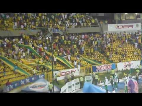 Junior vs Real Cartagena. Distubios en Estadio Jaime Morón