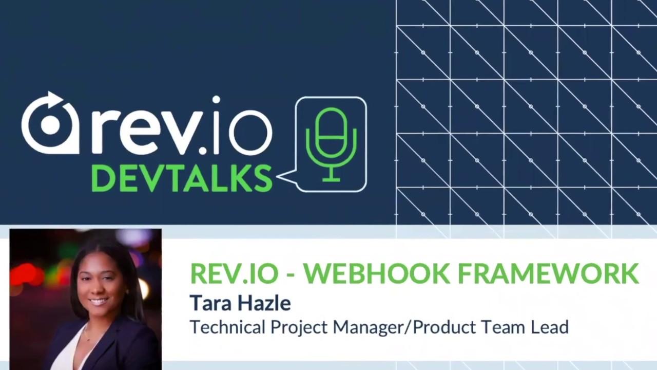 Rev io DevTalks - Webhook Framework