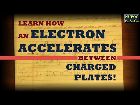 NUPOC VSG #73 - Accelerating a Charged Particle Between Two Plates