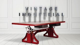 Some Of The Vintage Industrial Furniture Lineup