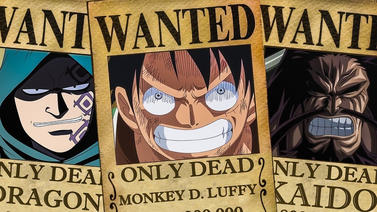 5 Only Dead Bounty Posters In One Piece Youtube