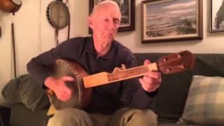 Liza Jane,  Bob Thornburg Plays his Home-Made Grain Measure Banjo