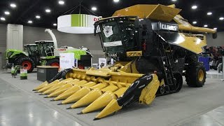 CLAAS Exhibit at the 2016 National Farm Machinery Show