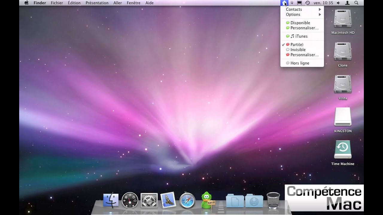 30 d placer les ic nes de la barre de menus mac os x for Innenarchitektur mac os x
