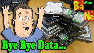 I lost all my data! Learn from my mistakes.