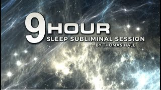 Hypnosis for Weight Loss - Lose Weight Fast - (9 Hour) Sleep Subliminal Session - By Thomas Hall