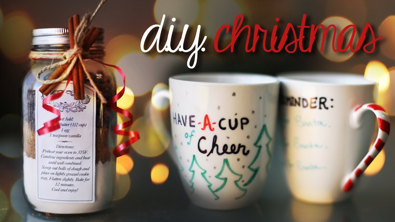 EASY & CHEAP DIY CHRISTMAS PRESENT IDEAS - YouTube