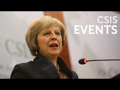 Statesmen's Forum: The Right Honourable Theresa May, MP, Home Secretary, United Kingdom