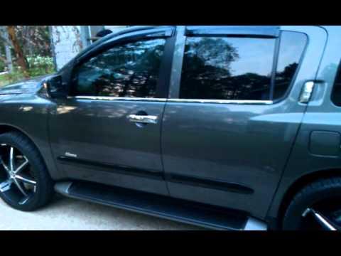 Nissan Armada On 26s Youtube
