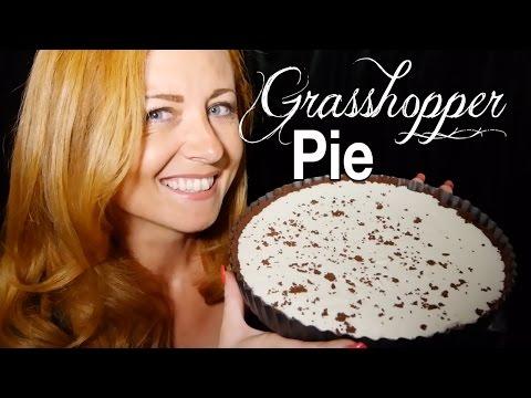 Grasshopper Pie! Pienaural Baking Good ASMR | Close Up Soft Sounds