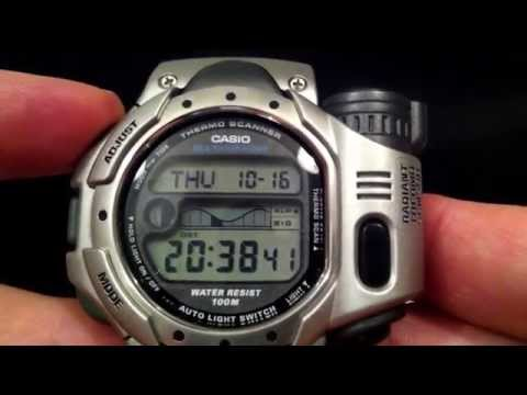 Casio Thermo Scanner Watch SPF-10