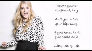 Meghan Trainor Better when I 39 m dancing 39 LYRICS VIDEO