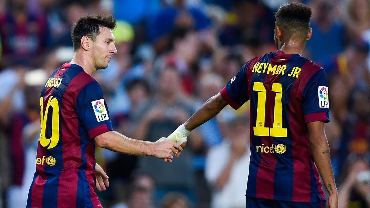 Messi et Neymar, 2 meilleurs amis..