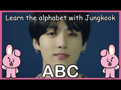 LEARN THE ALPHABET WITH BTS' JUNGKOOK