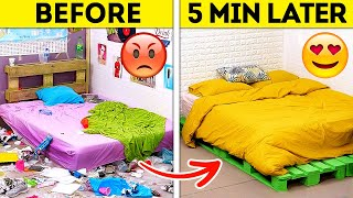 BEDROOM TRANSFORMATION || Fantastic Home Decor DIYs That Will Save Your Money