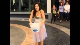 Repeat youtube video ใบเตย อาร์สยาม Ice Bucket Challenge เเหม!! ชุดเซ็กซี่มากๆโชว์นมด้วยดําจริงๆ