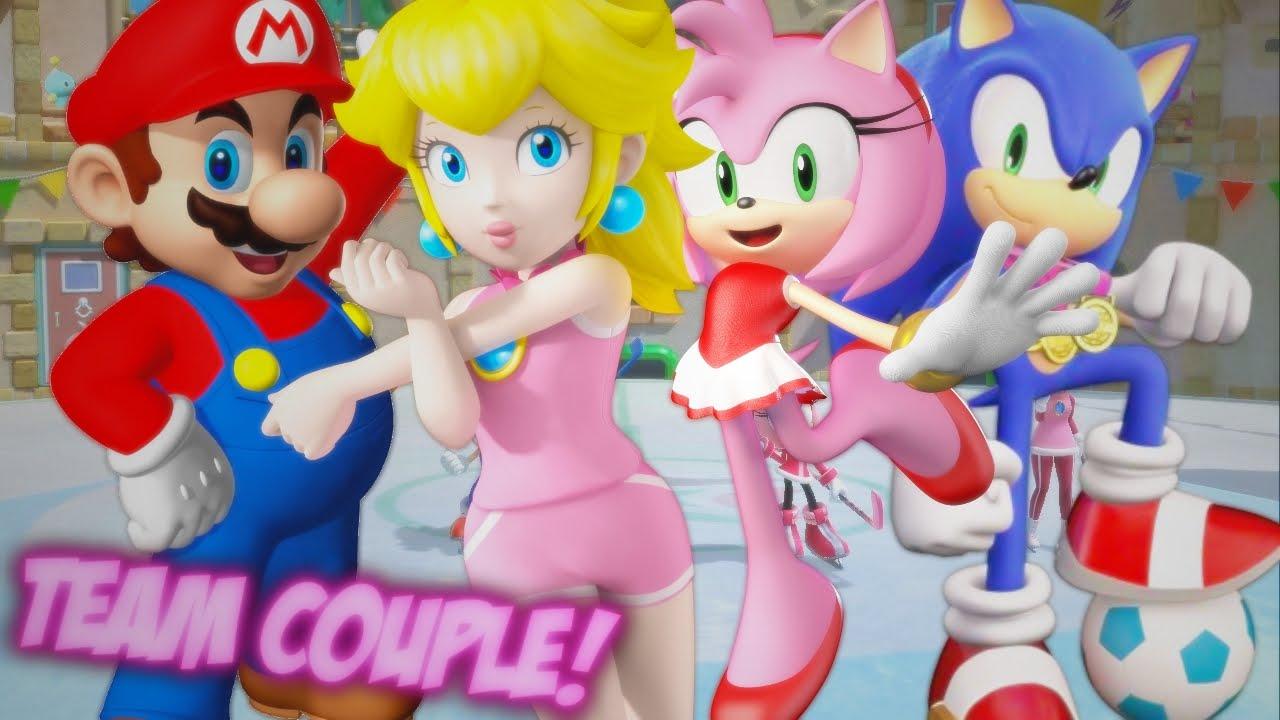 Mario et sonic porn