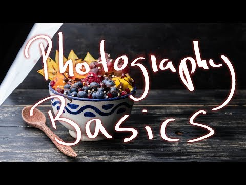Food photography basics - LIGHTING TECHNIQUES