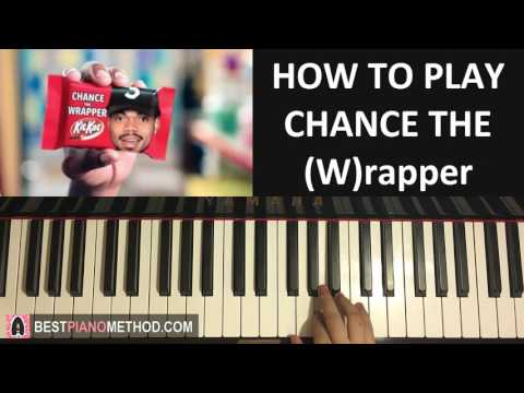 "HOW TO PLAY - Kit Kats Commercial 2016 - ""Chance the (W)rapper"" (Piano Tutorial Lesson)"