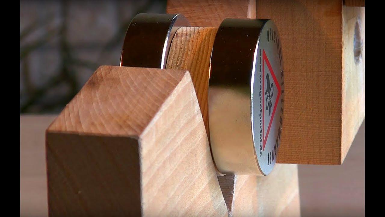 separating large neodymium magnets youtube