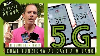 5G di Vodafone a Milano. Copertura, velocità e consumi