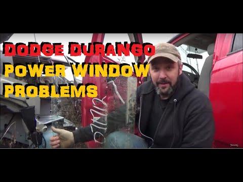 Dodge Durango - Power Window Problems