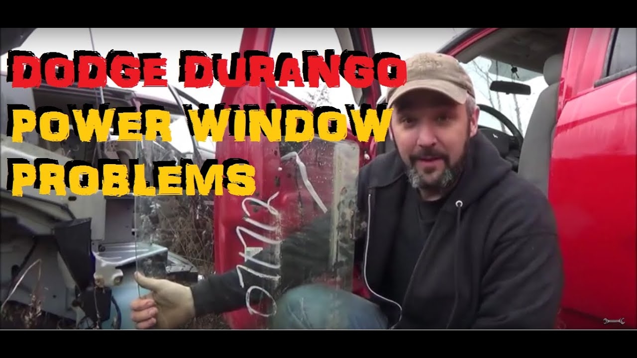 hight resolution of dodge durango power window problems