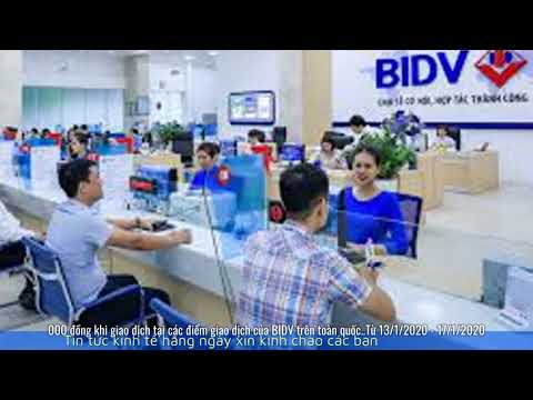 Lãi Suất Ngân Hàng BIDV Mới Nhất Tháng 1/2020