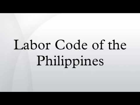 Labor Code of the Philippines