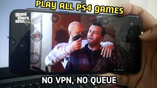 How to play GTA 5 in Android - Play popular console games in Android - Available in PlayStore