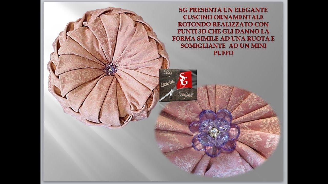 Popolare SG Creazioni Artigianali presenta:Elegante Cuscino ornamentale  KB74