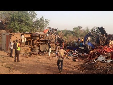 Kintampo Accident video -71 feared Dead