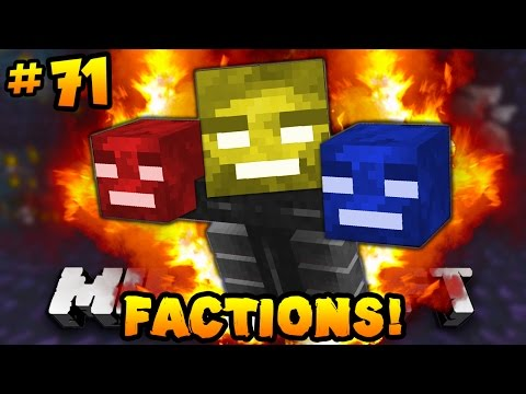 "Minecraft FACTIONS VERSUS ""WITHER BOSS BATTLE!"" #71 