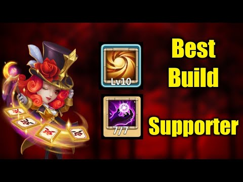 Miss Magic | Best Build | Team Hero | Crazy Skill😳😳 | 10 SL | Castle Clash