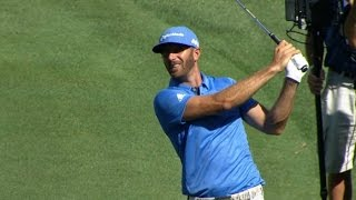 Dustin Johnson Round 2 highlights from the TOUR Championship