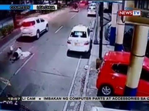 BT: Magtataho, nagpagulong-gulong sa kalsada matapos tila salubungin ang isang SUV