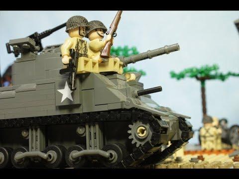 видео: ЛЕГО БИТВА у Поместья Брекур WW2, День-Д, высадка в Нормандии (Братья по оружию-3)