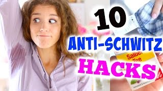 10 ANTI-SCHWITZ und STINK HACKS! ♡ BarbieLovesLipsticks