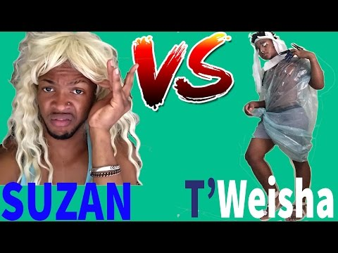 SUZAN ( prince marni) VS TWEISHA (T'Wani) | Viners Show Down| Try Not To Laugh OR Grin