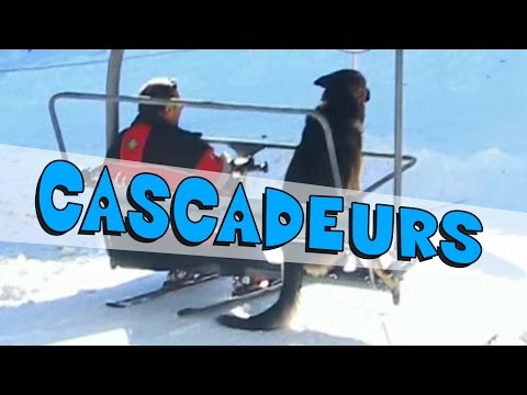 Les Jackass font du ski ! Cascades Dangereuses !
