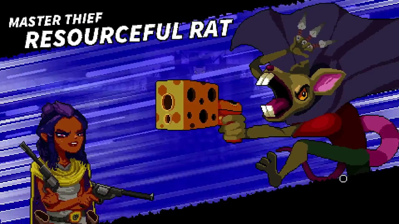 [Enter the Gungeon] Resourceful Rat boss fight
