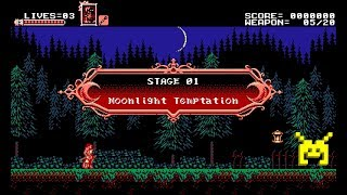Let's Play Bloodstained: Curse of the Moon: Moonlight Temptation (1/8)