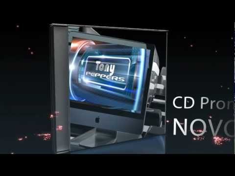 Free Templaste After Effects CS5 CS5.5- CD Case Demo Tony Peppers