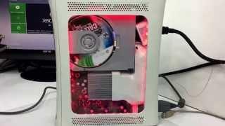 Xbox 360 FaT Modificaciones Led Multicolores Remotos  Diseños personalizados Chip LT 3.0 Tuning #4